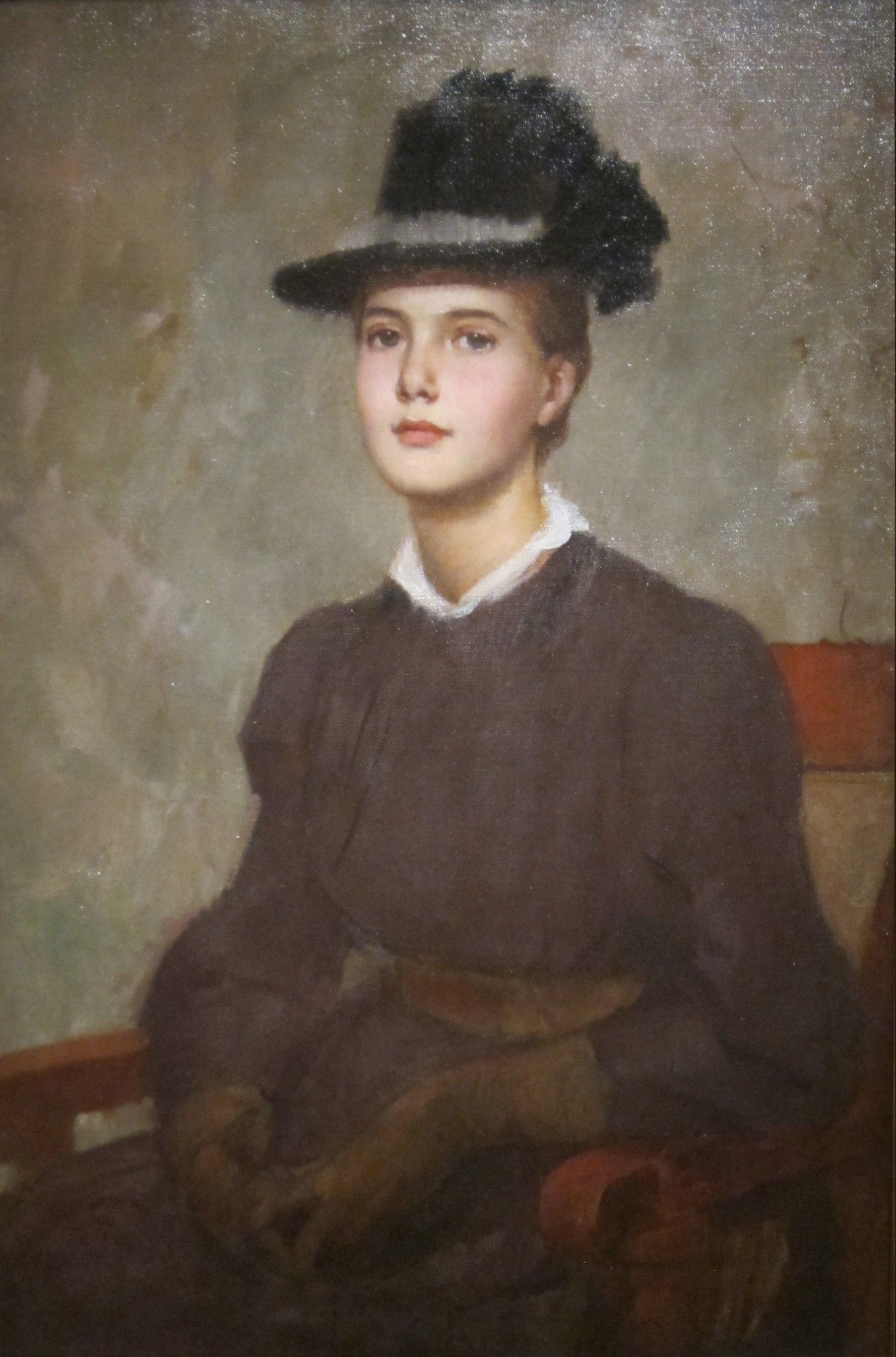 University Of Cincinati >> File:'Marie Danforth Page' by Frank Duveneck, Cincinnati ...