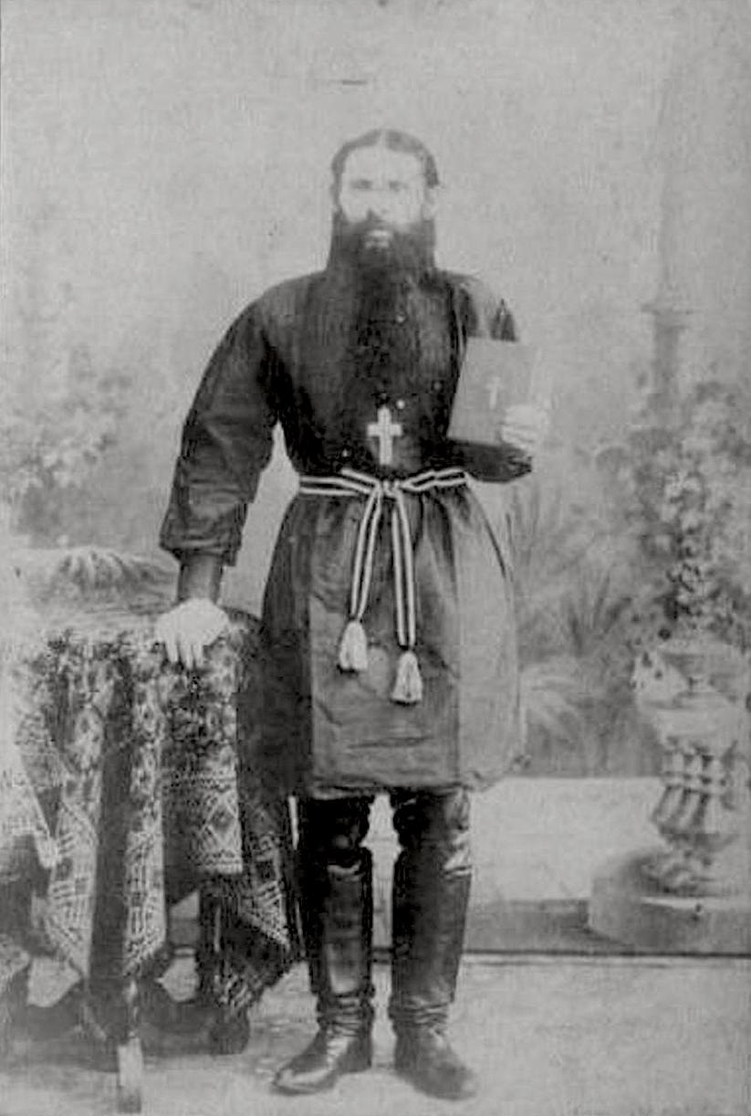 Священнослужитель Владимир Вятский между 1897-1909 годами.