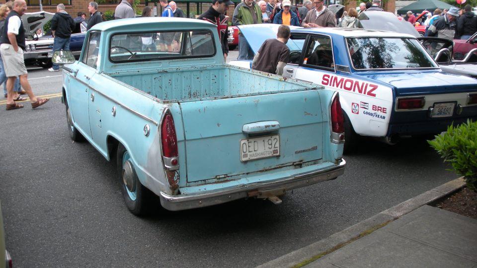 1964 Datsun 320 | Mini Truckin | Pinterest | Classic cars online ...