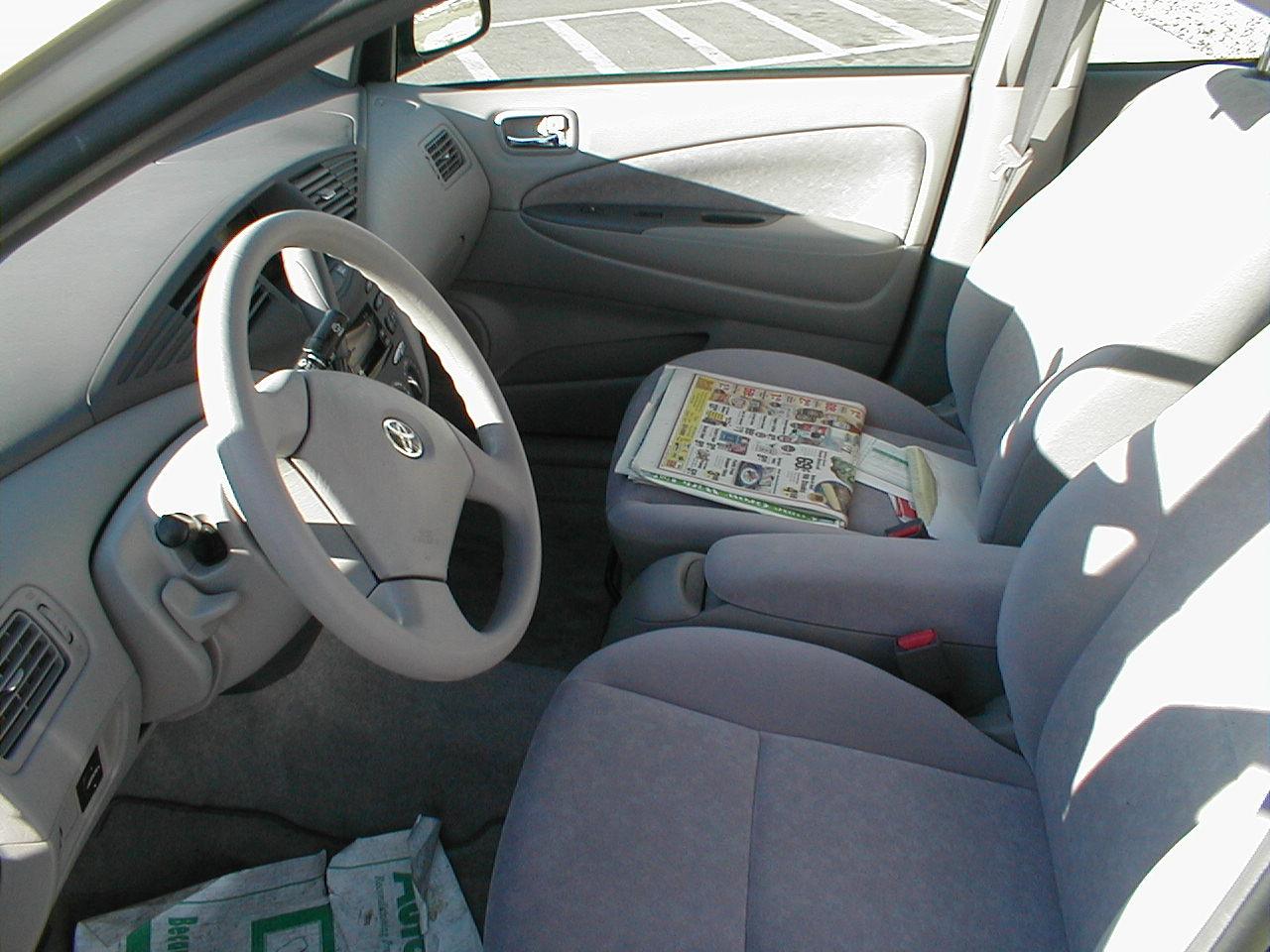 File2002 Toyota Prius Interior Wikimedia Commons