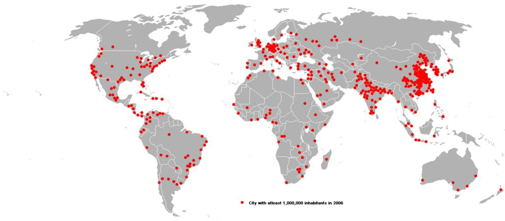 Trends in UrbanizationGlobal Maps About International Urban