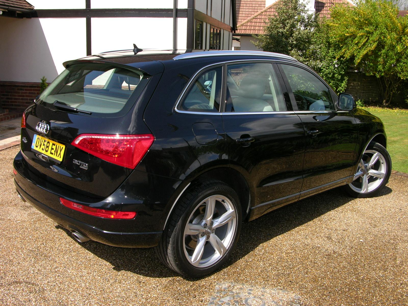file 2009 audi q5 se tdi quattro flickr the car spy 1 jpg wikimedia commons. Black Bedroom Furniture Sets. Home Design Ideas