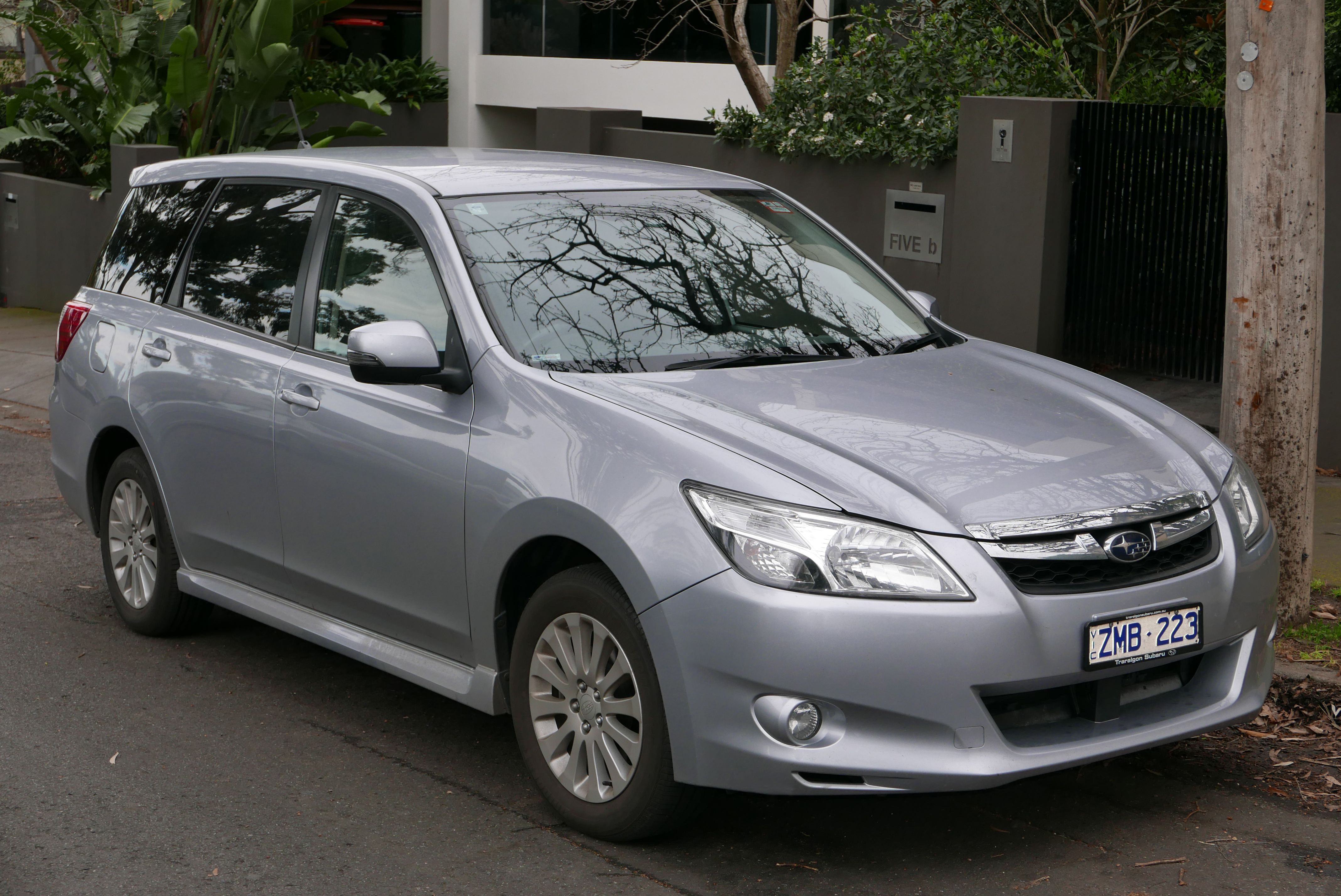 Subaru 7 Seater >> Subaru Exiga Wikipedia