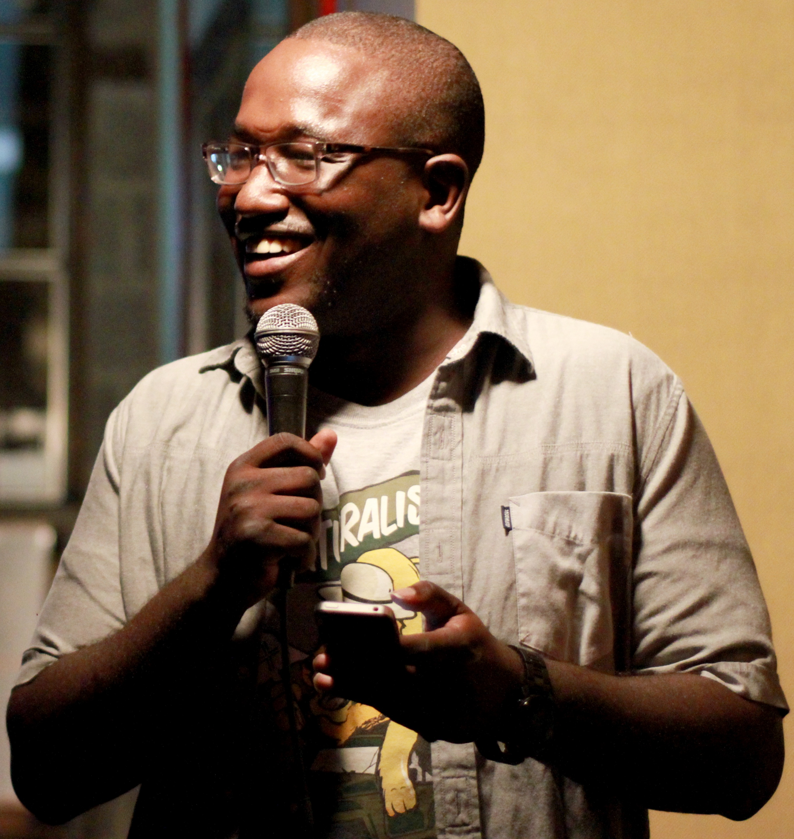 Picture of an author: Hannibal Buress