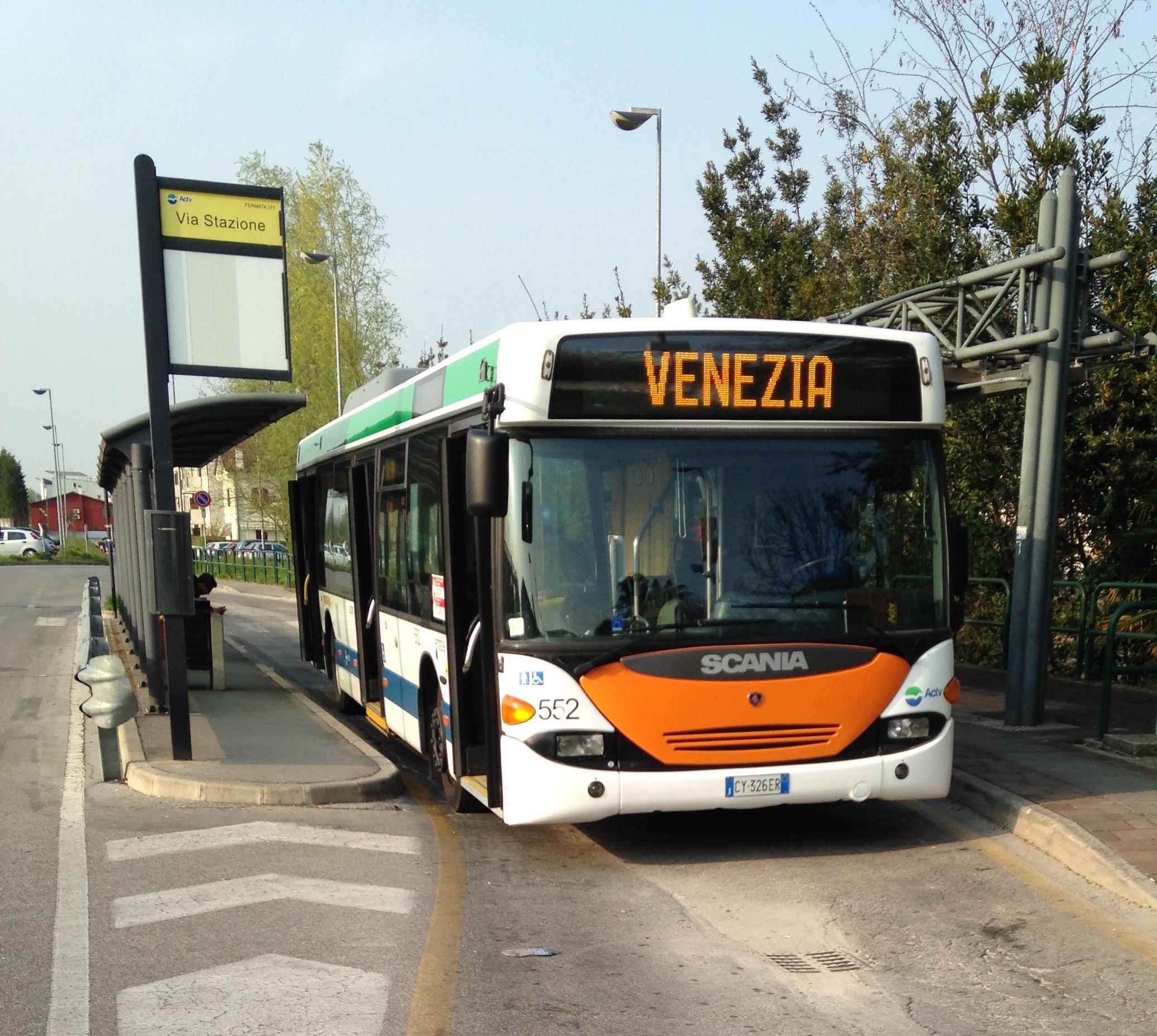 ATVO orari autobus por aeroporto Venezia e Treviso