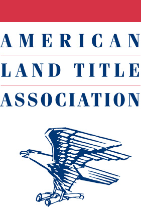 This is the logo for the American Land Title A...