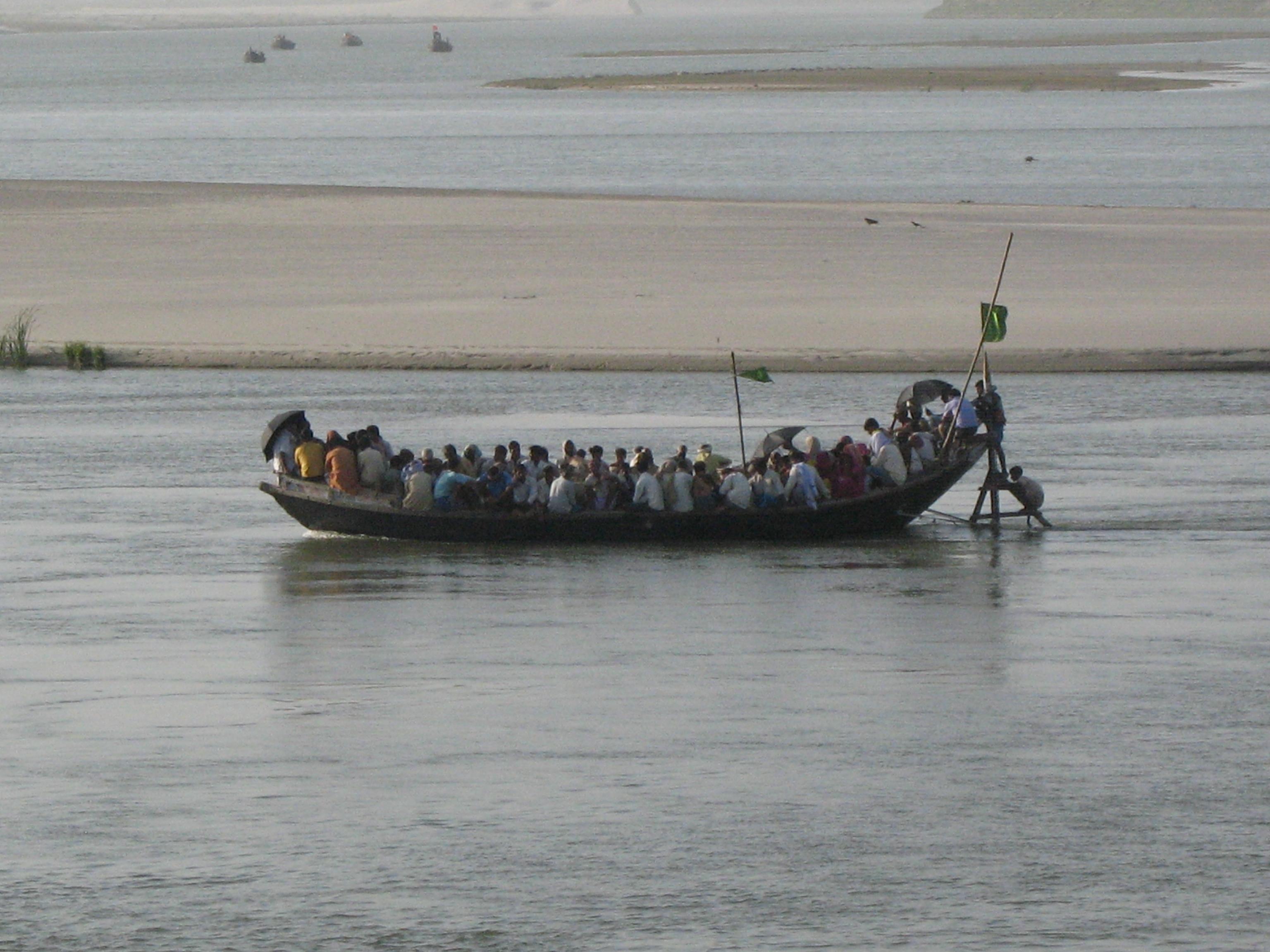 A boat in India.JPG