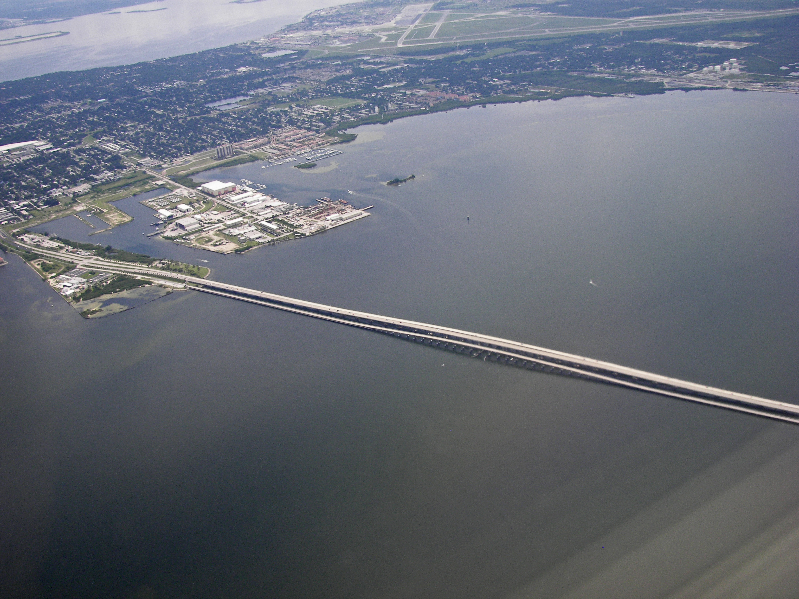 Operation Jade Helm Aerial_view_of_South_Tampa,_MacDill_AFB_and_Gandy_bridge_2