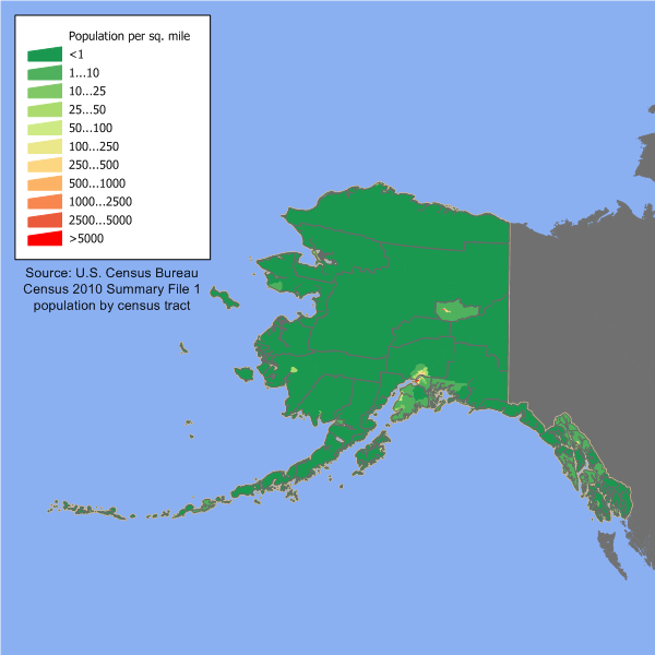Demographics of Alaska Wikipedia
