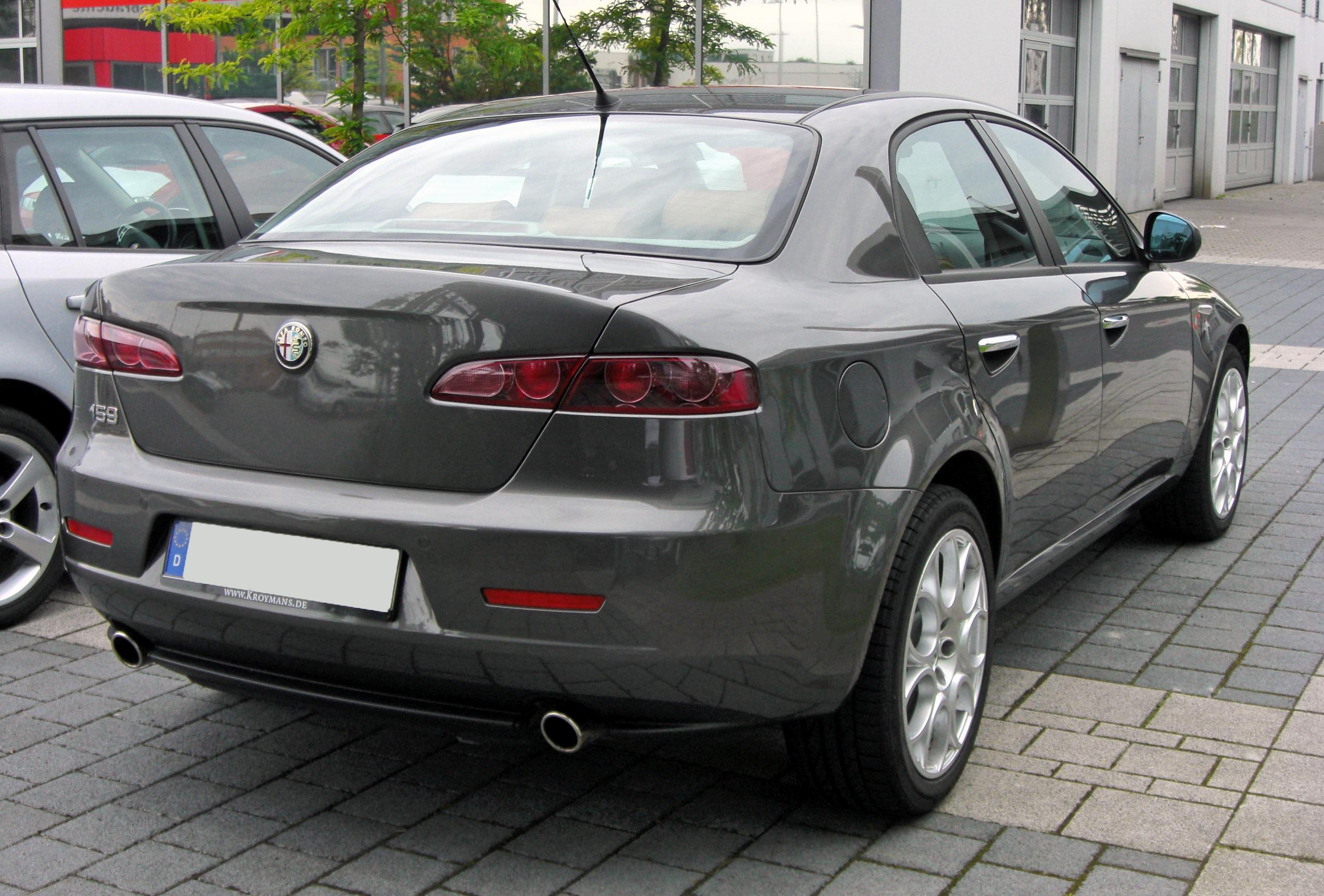 File:Alfa Romeo 159 Facelift 20090620 rear.JPG