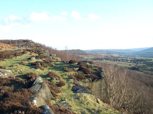 Along Curbar Edge - geograph.org.uk - 52379