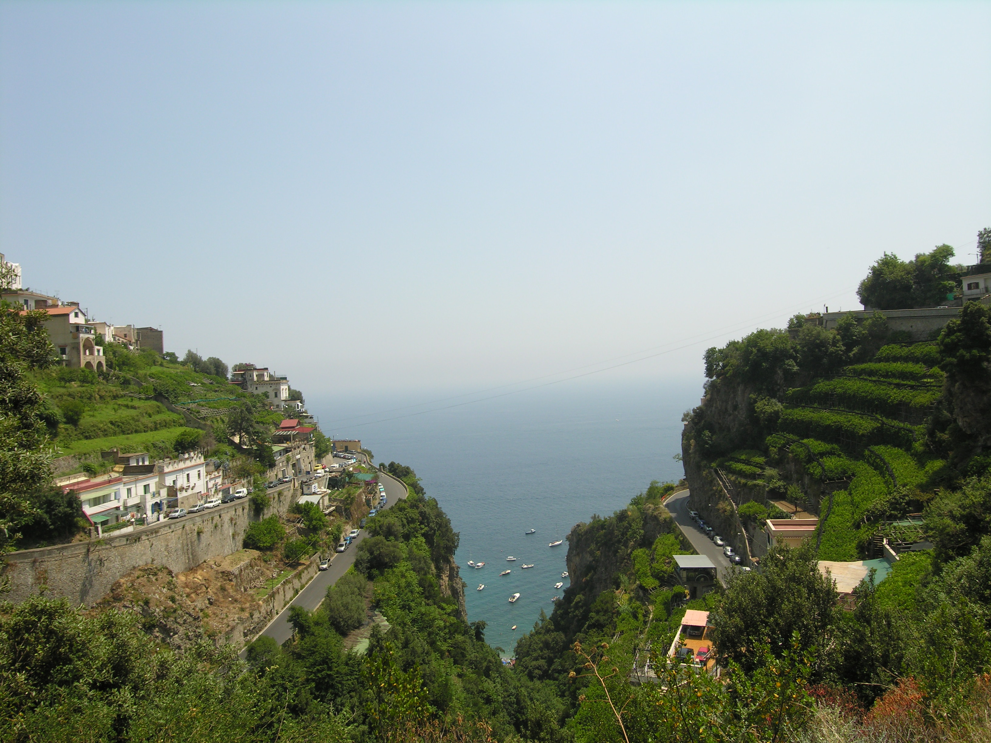 Amalfi Coast, driving in Hollywood