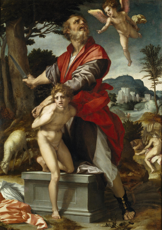 Andrea del Sarto - Il sacrificio di Isacco (Prado).jpg