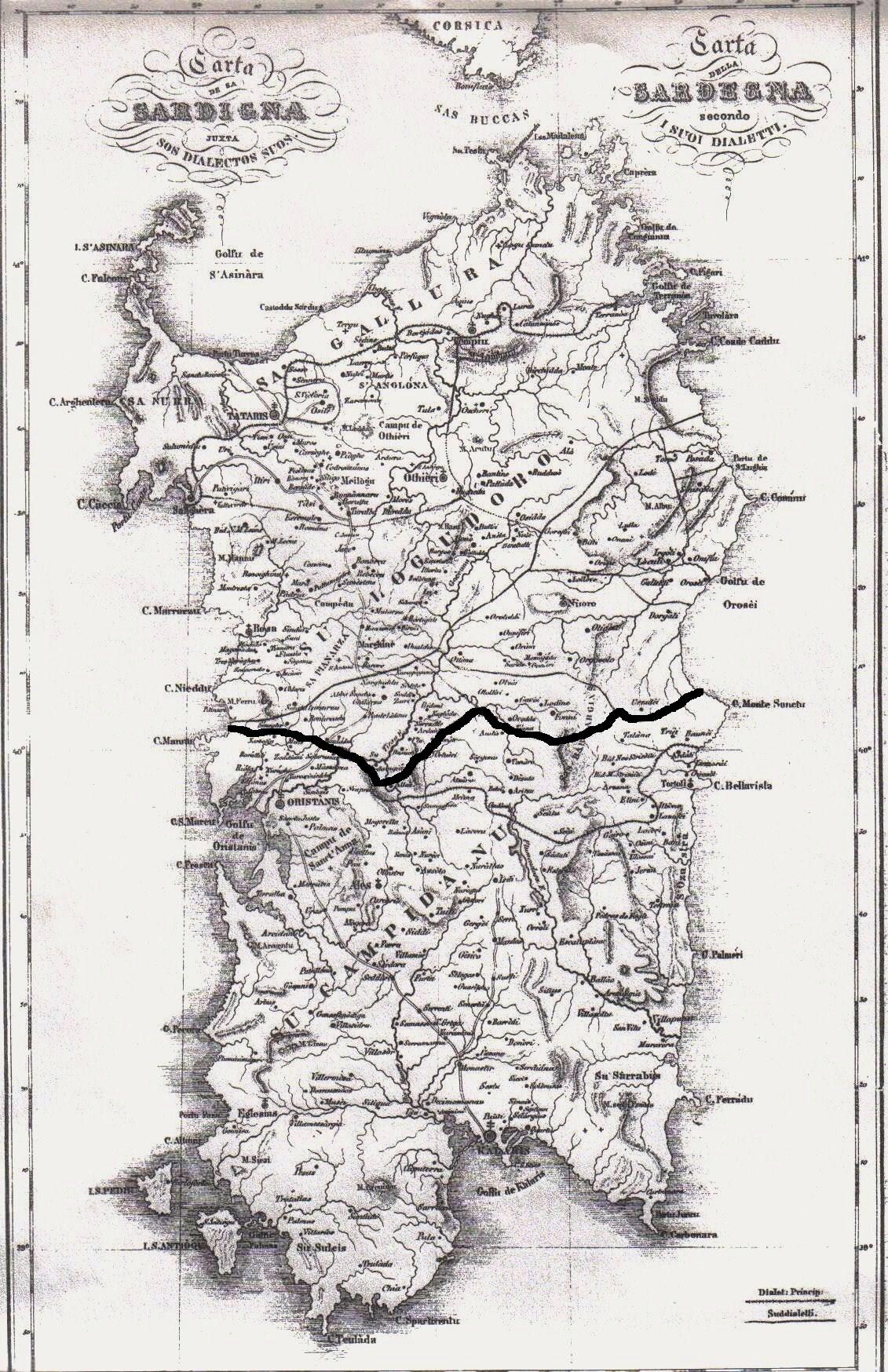 Cartina Antica Sardegna.File Antica Carta Linguistica Sardegna Modificata Jpg Wikimedia Commons