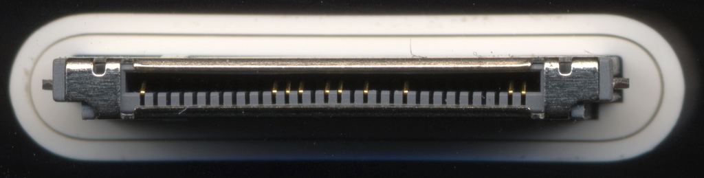 Apple 30-pin interface connector