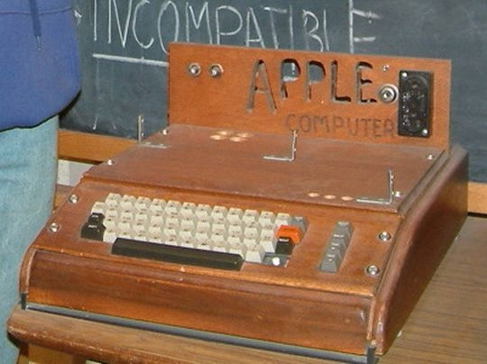 Apple I in 1976