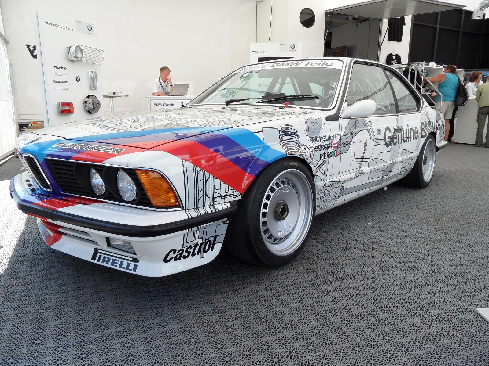 File:BMW E24 635 CSi Grp A Works Original BMW Teile front side.JPG