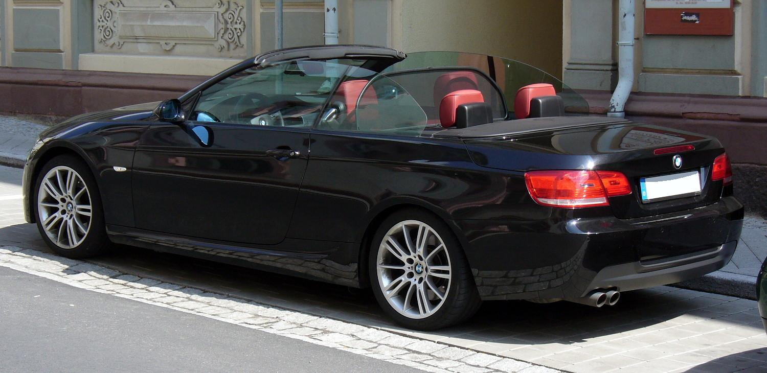 File Bmw E93 M Sport Heck Jpg Wikimedia Commons