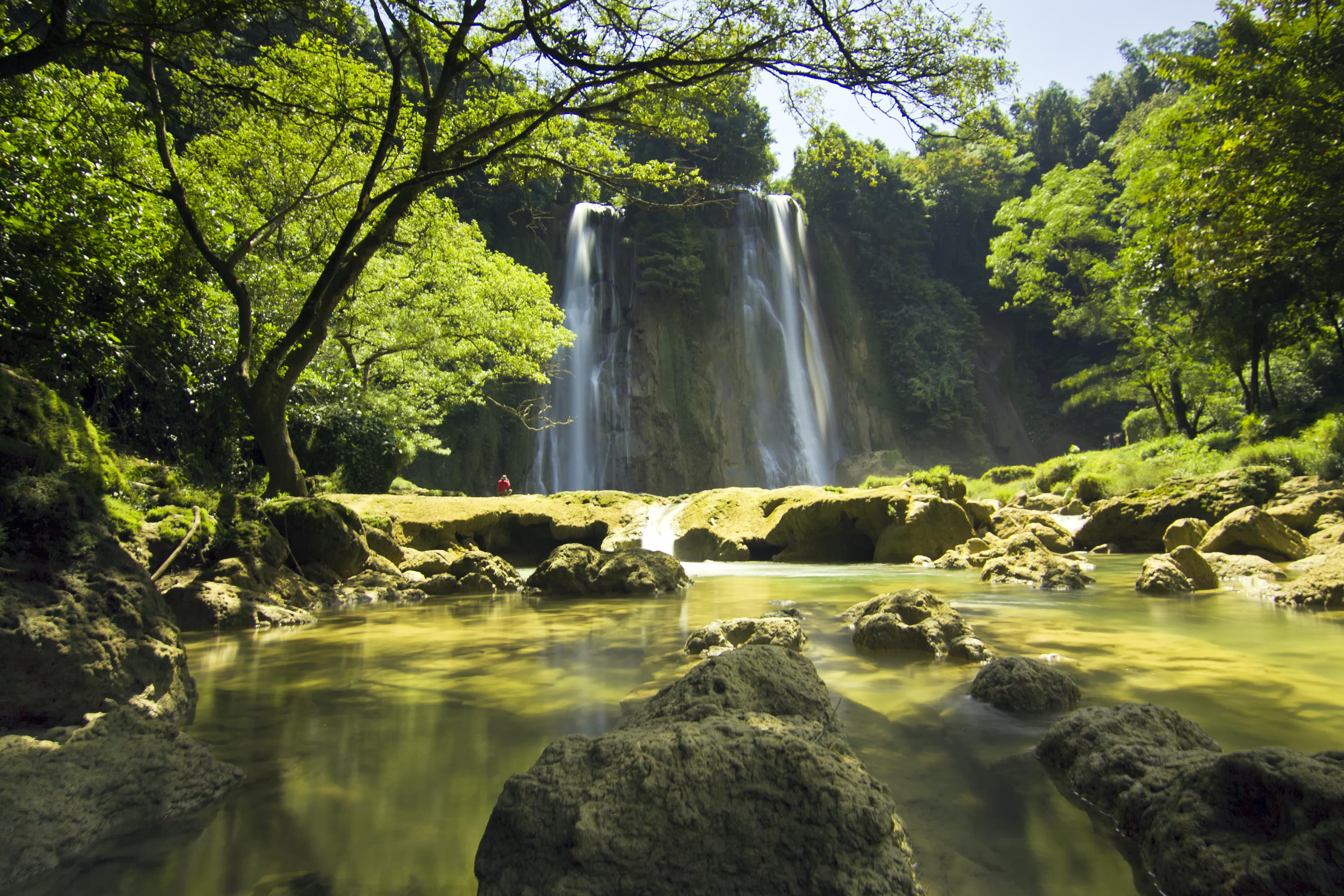 Air terjun Cikaso - Wikipedia bahasa Indonesia, ensiklopedia bebas