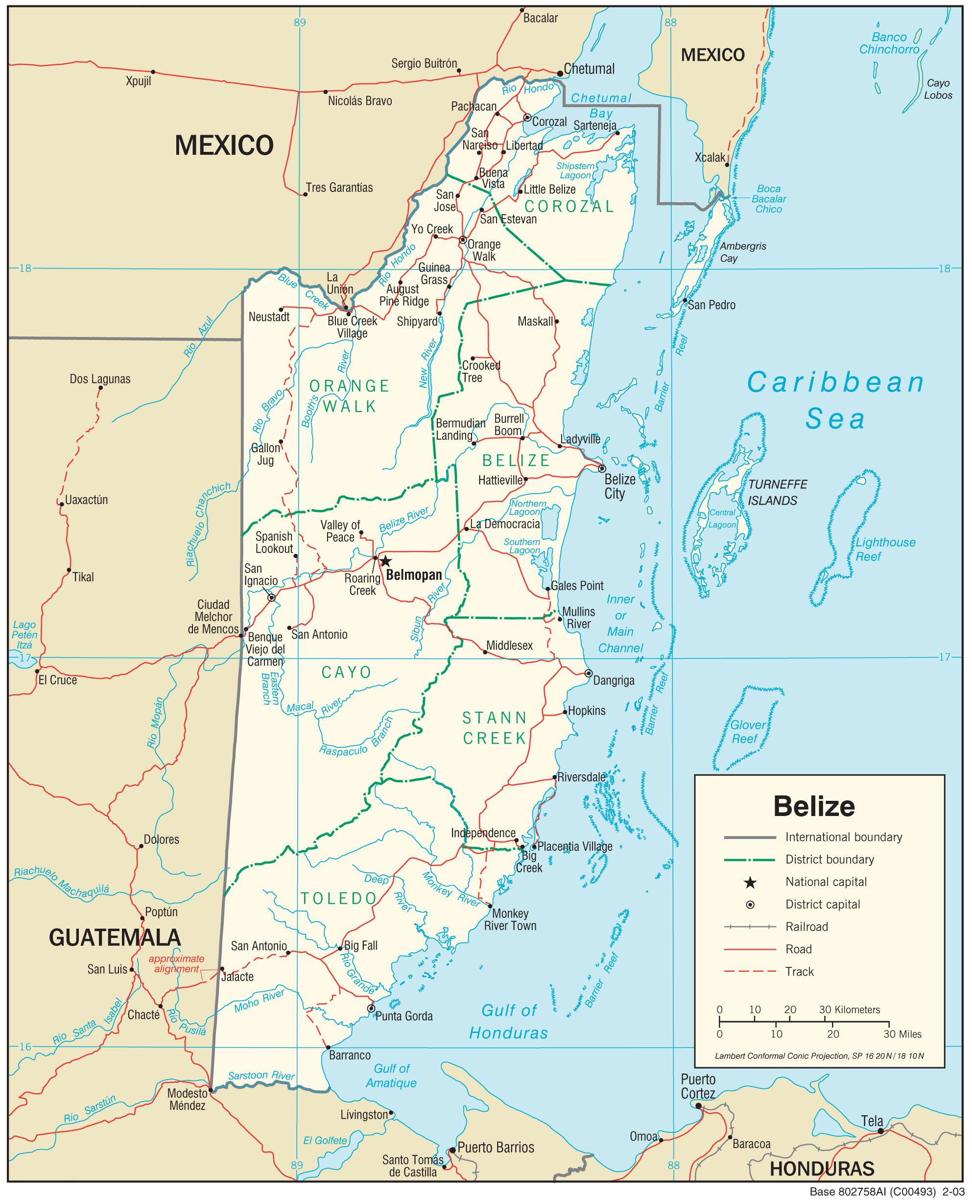 Belizes Historia Wikipedia