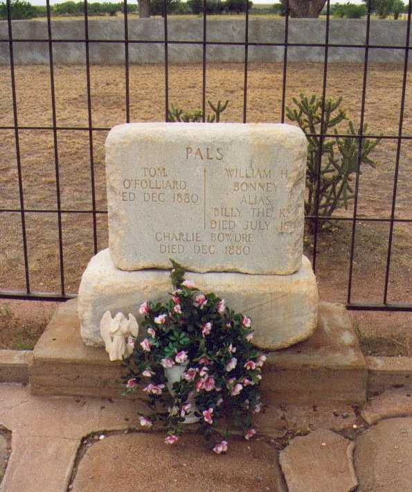 billy the kid grave site. The gravesite is now enclosed