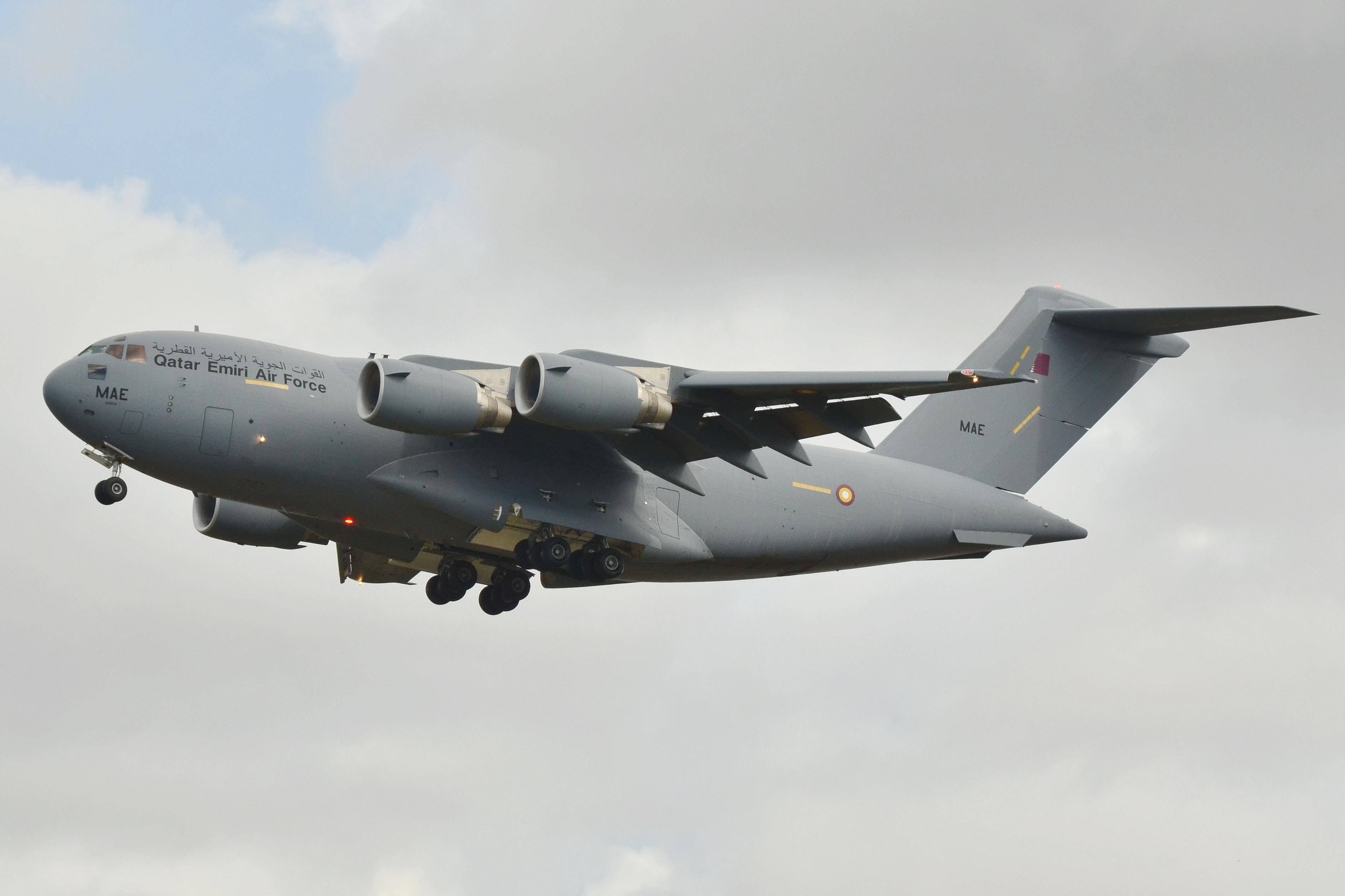 File:Boeing C-17A Globemaster III Qatar Emiri Air Force A7-MAE - MSN F252 QA4 (10101360223).jpg - Wikimedia Commons