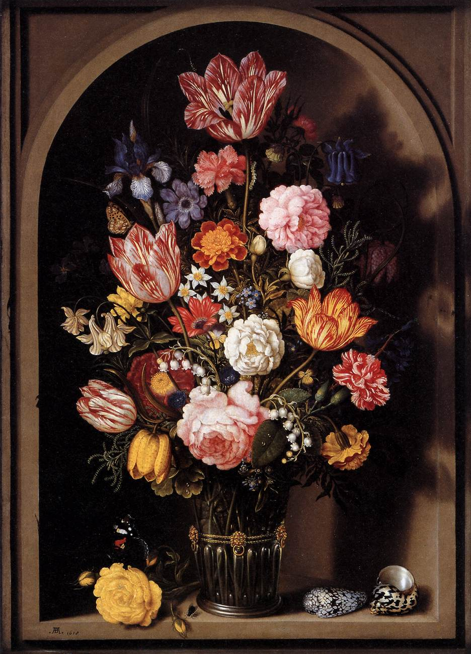 file bouquet of flowers in a vase 1618 ambrosius wikimedia commons. Black Bedroom Furniture Sets. Home Design Ideas
