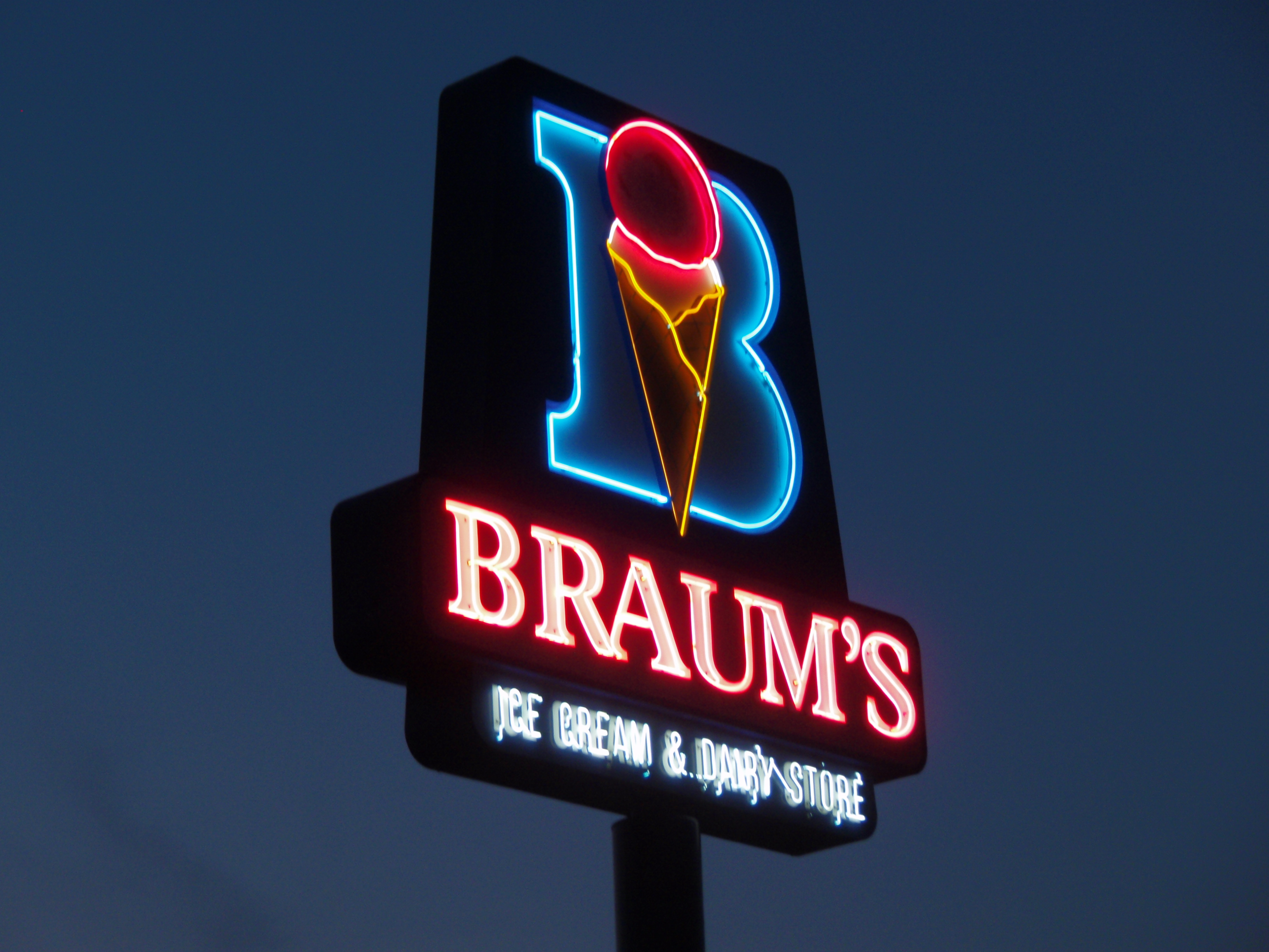 Braum S Ice Cream Burger Restaurant Sapulpa Ok