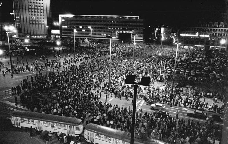 Montagsdemonstration Leipzig