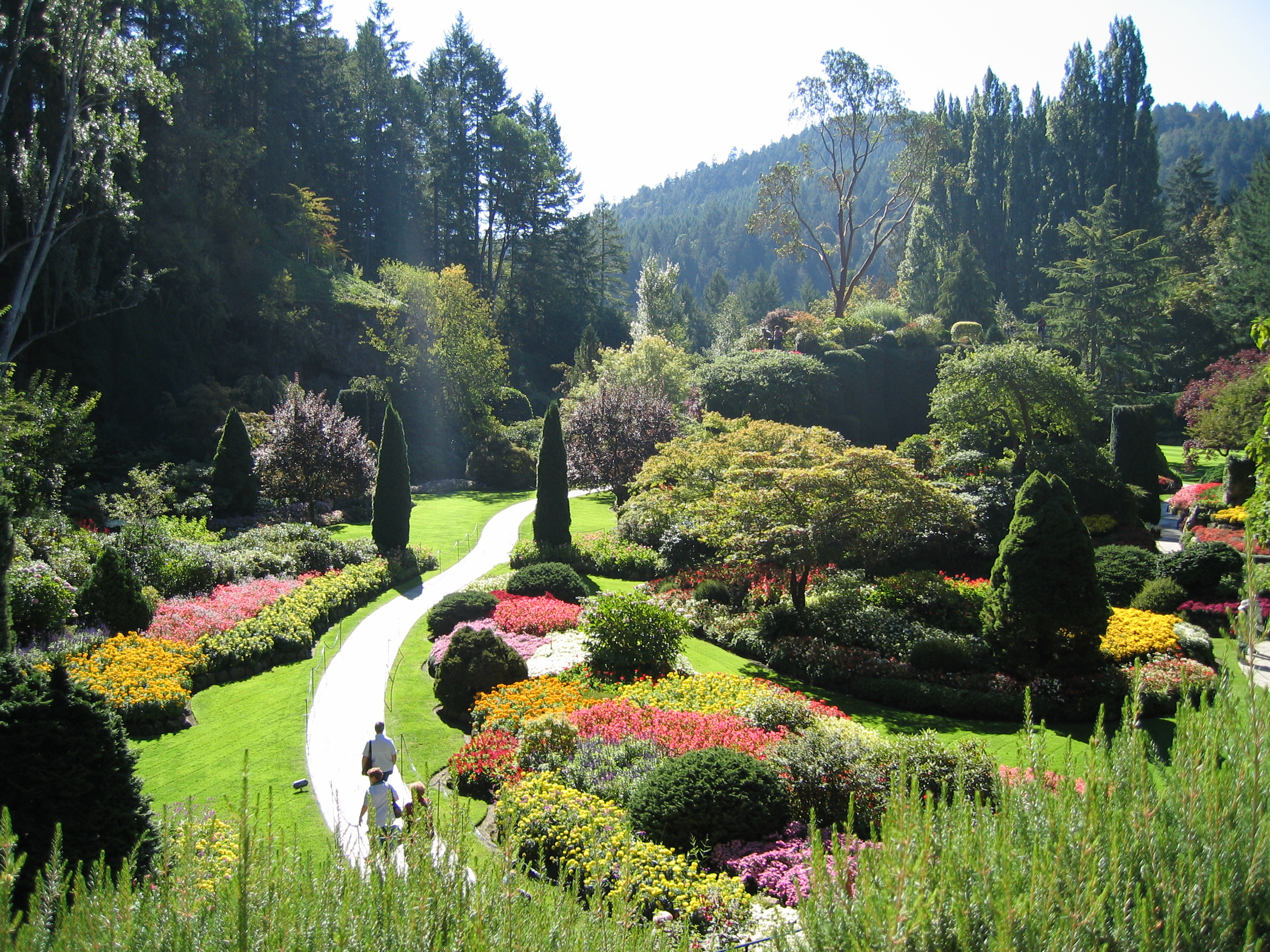File butchart gardens jpg wikipedia for Landscape design canada
