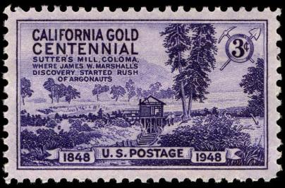california gold rush term paper