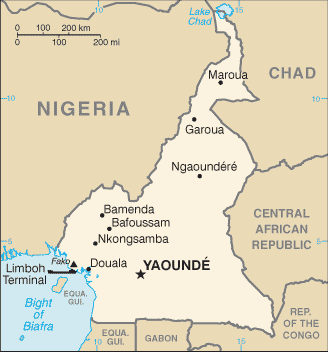 List Of Municipalities Of Cameroon Wikipedia - Major cities map of portugal