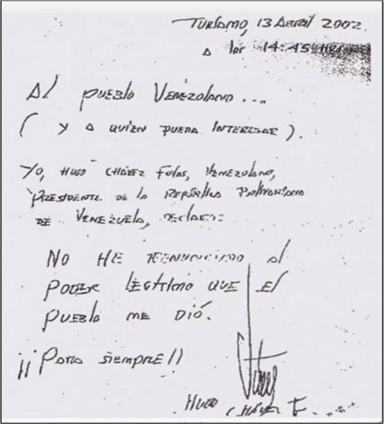 Golpe de Estado 2002 y Paro Petrolero 2003 Carta_No_Renuncia_Ch%C3%A1vez_2002