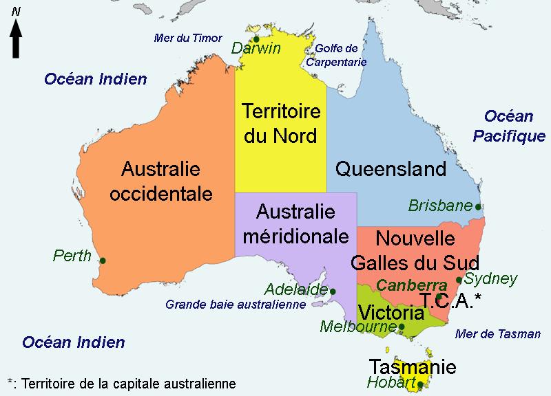 Carte Australie Sud.Grande Baie Australienne Wikipedia