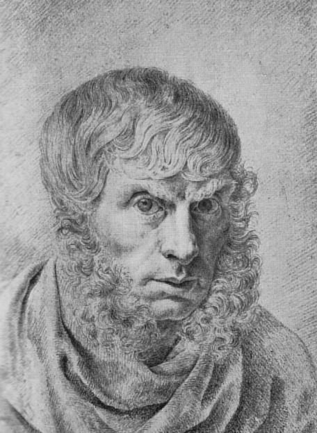 Автопортрет Каспара Давида Фридриха в 36 лет, нарисованный в 1810 году