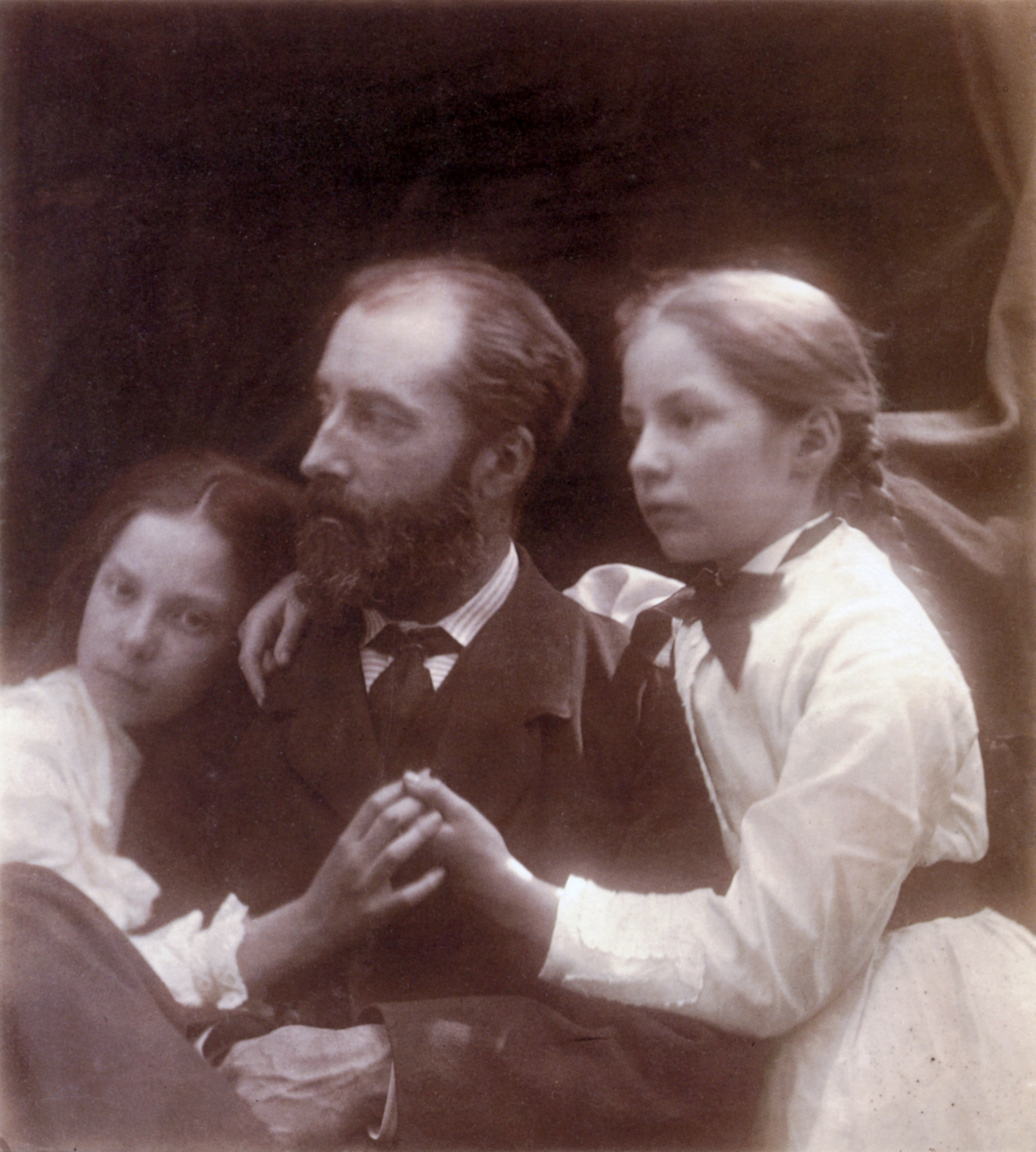 File Charles Norman And His Daughters Adeline And