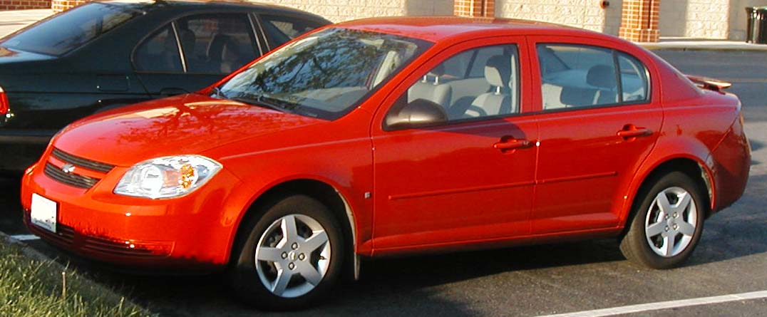 Chevy cobalt red