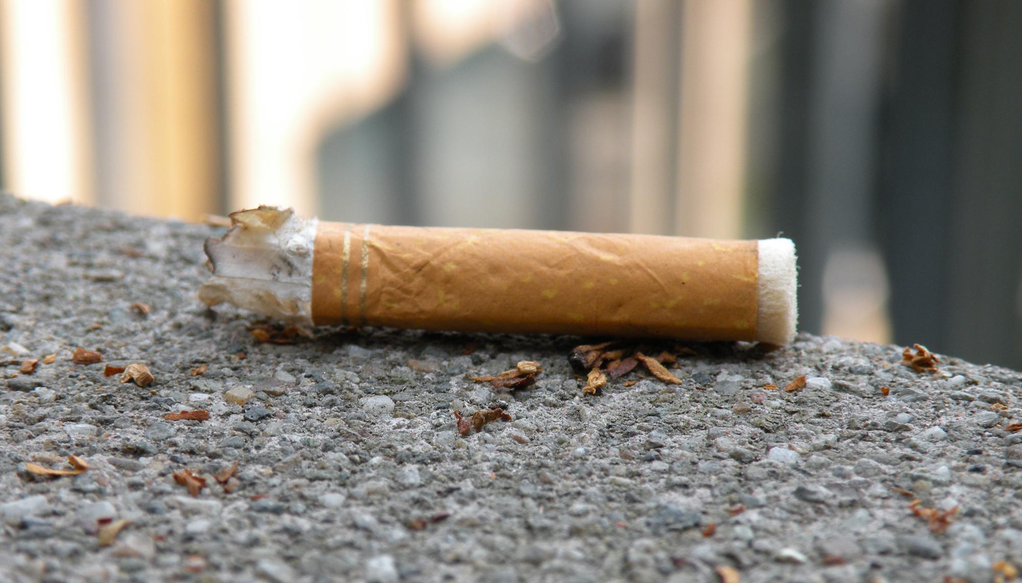 cicche di sigaretta