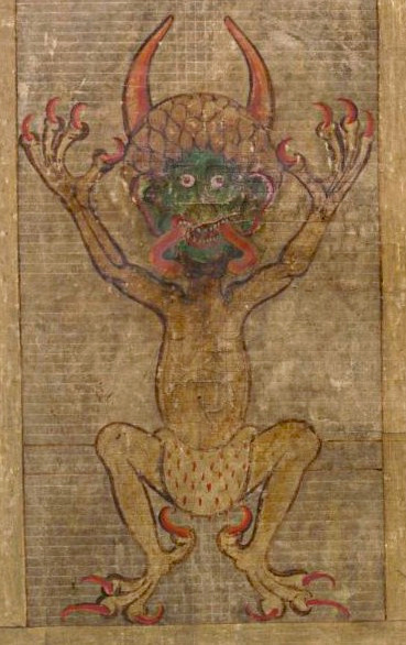Codex Gigas devil
