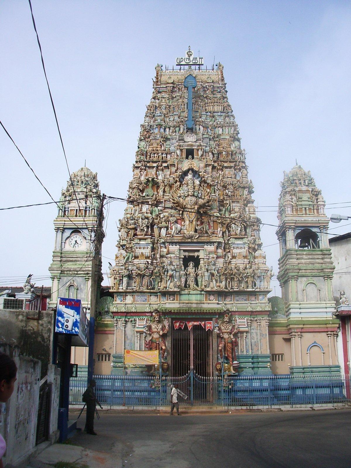 Hindu Temple Sri Lanka Colombo