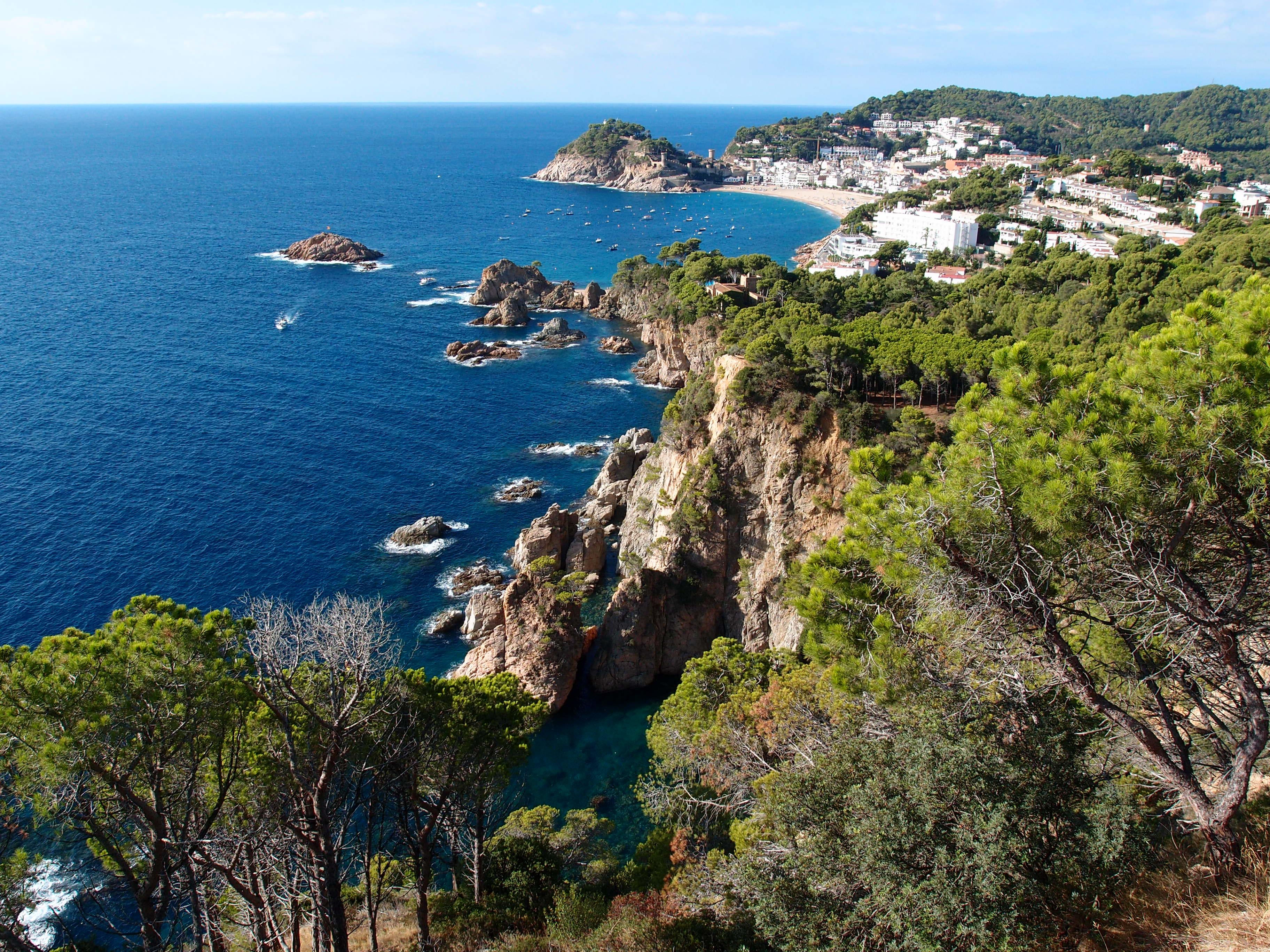 Karte Costa Brava Spanien.Costa Brava Reisefuhrer Auf Wikivoyage