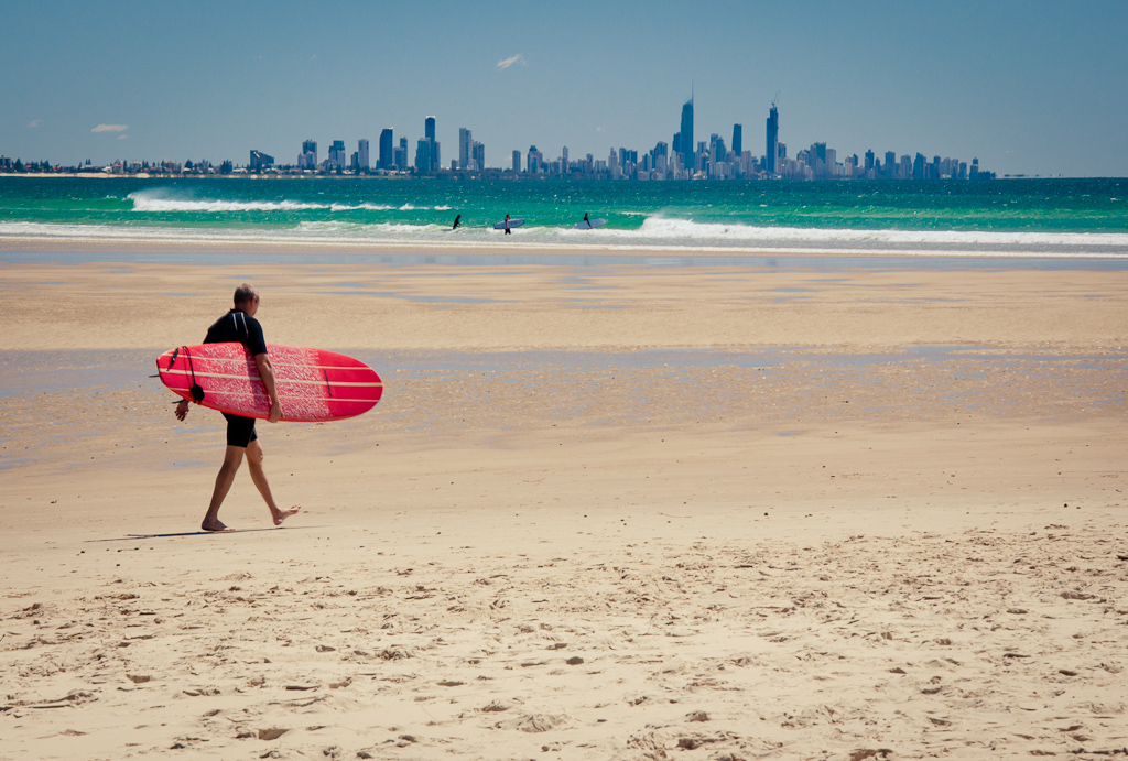 Gold Coast Australia Surfing