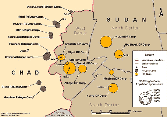 File:Darfur refugee camps map.png - Wikimedia Commons on