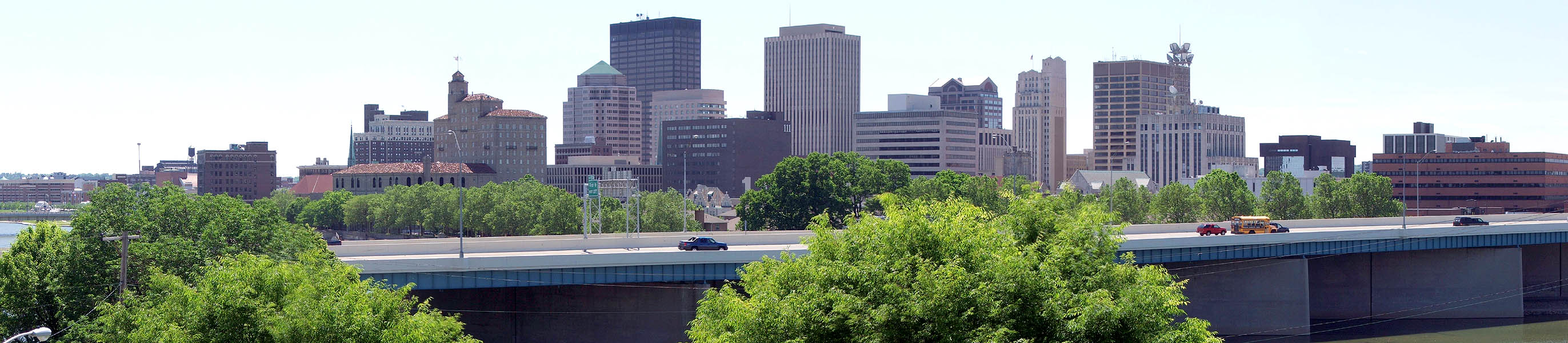 Downtown Dayton in 2007