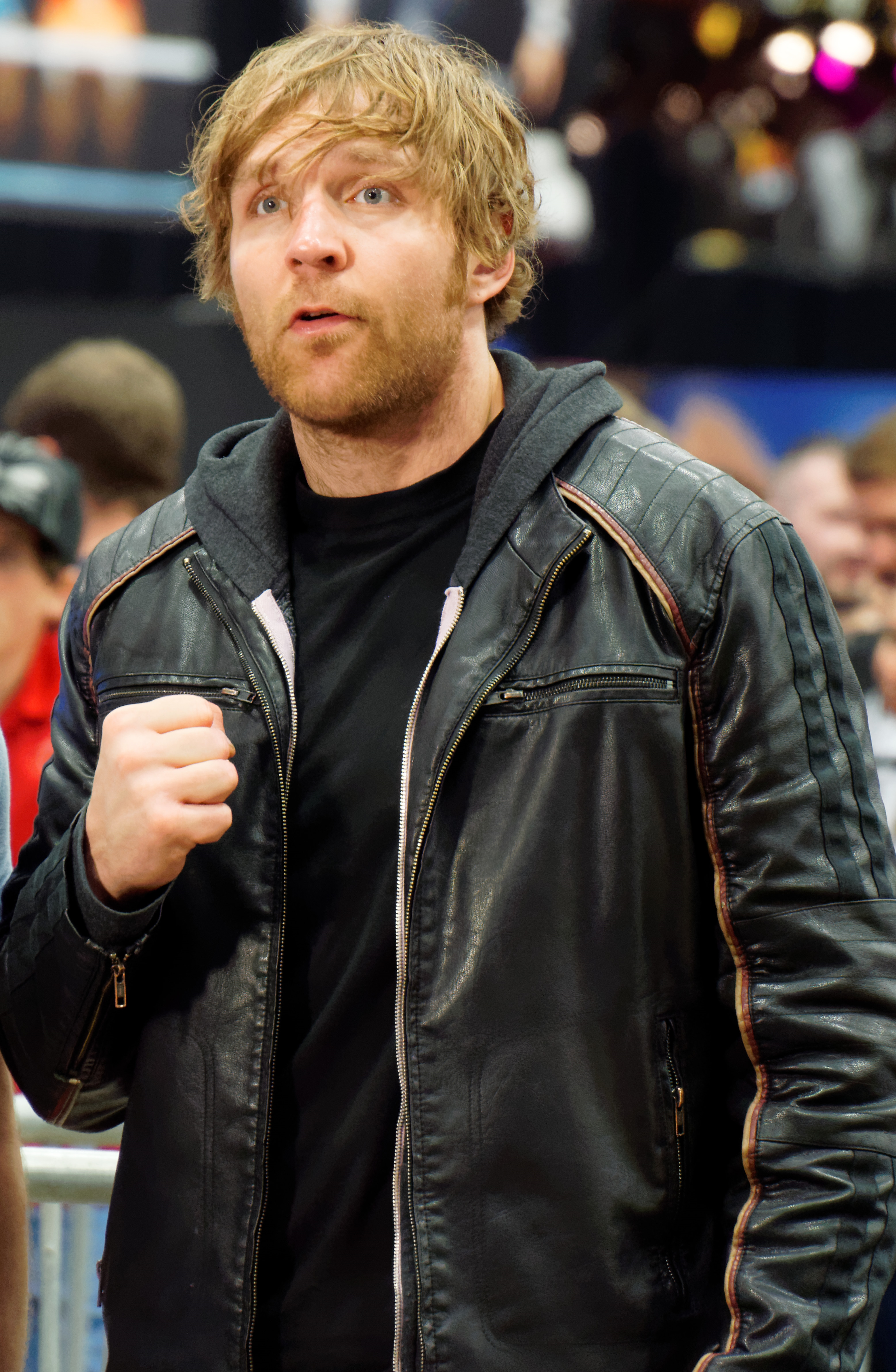 The 32-year old son of father (?) and mother(?) Dean Ambrose in 2018 photo. Dean Ambrose earned a  million dollar salary - leaving the net worth at 6 million in 2018