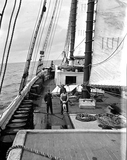 File deck of union fish co 39 s schooner sequoia alaska for Fishing company of alaska