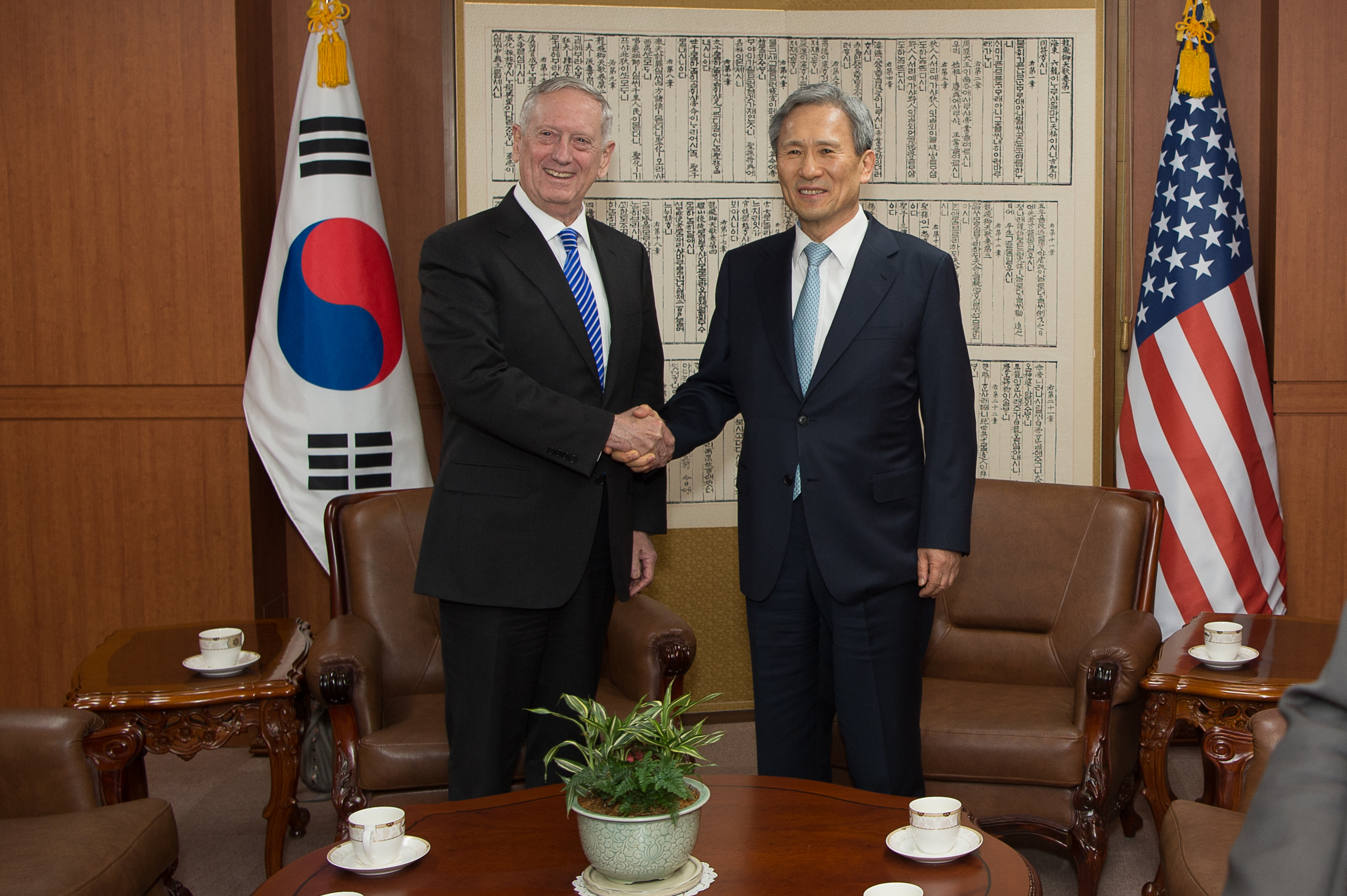 File:Defense Secretary James Mattis meets with Republic of ...