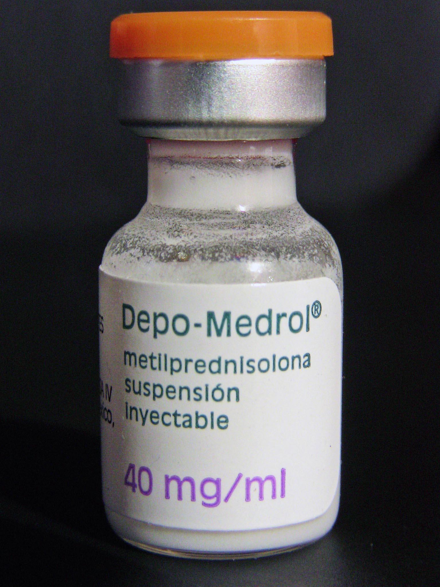 Метилпреднизолон фото
