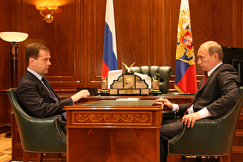 Archivo:Dmitry Medvedev with Vladimir Putin-1.jpg