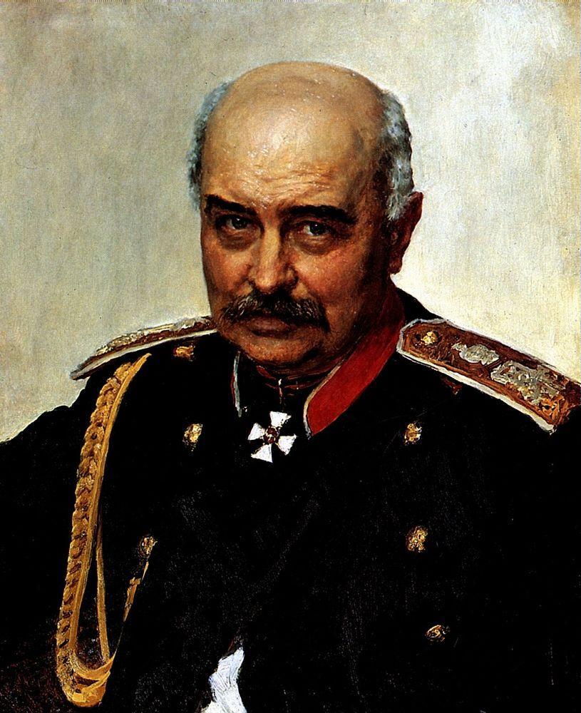 Portrait by [[Ilya Repin]]